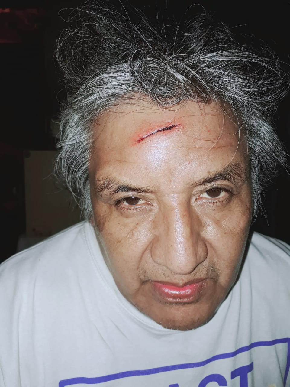 Atacaron al luchador anticarcelario Alfredo Cuellar