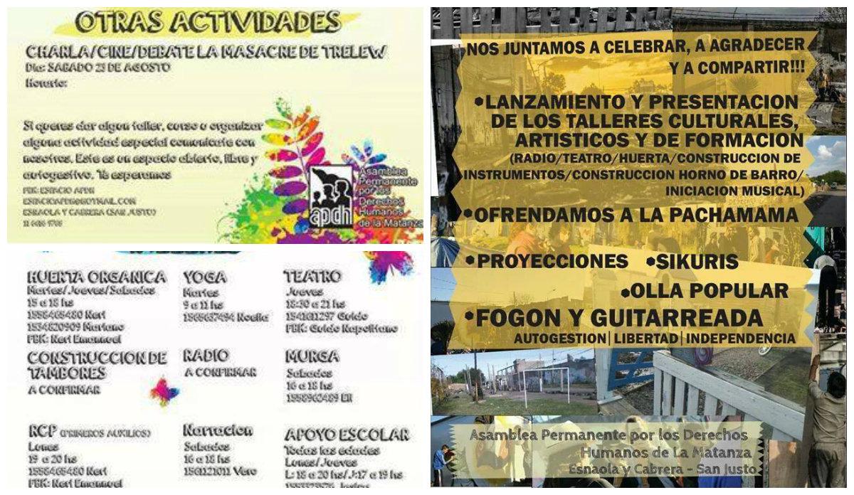 Jornada para celebrar y compartir en la APDH-La Matanza