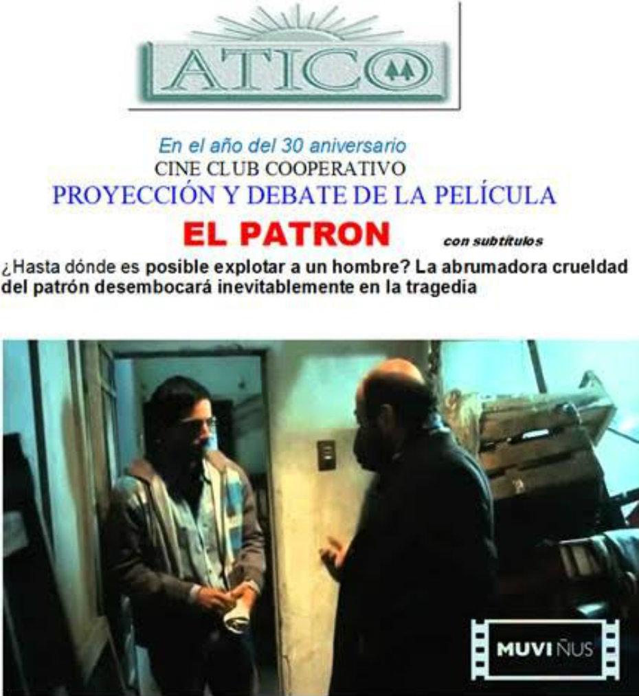 Cine/debate en Ático:
