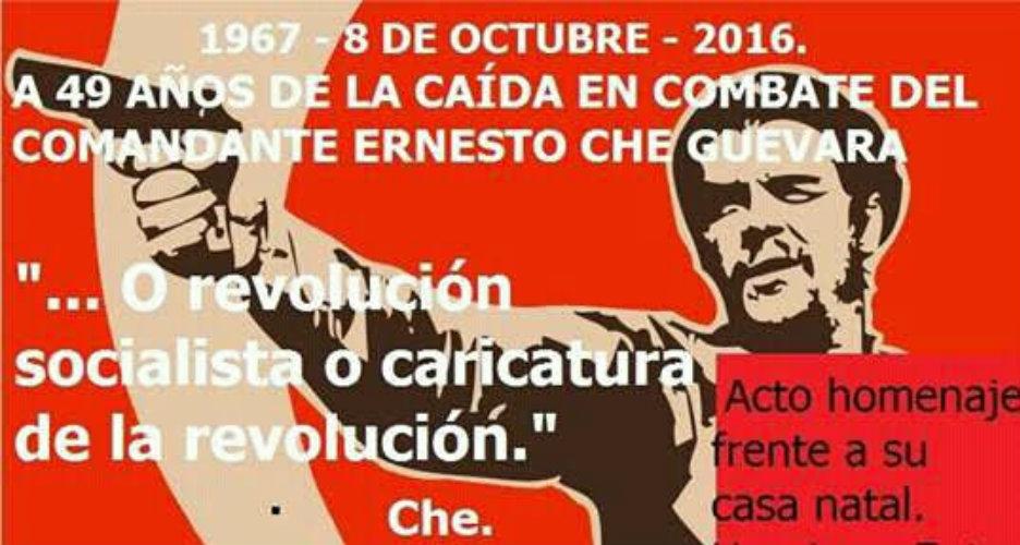 Homenaje al Che en Rosario