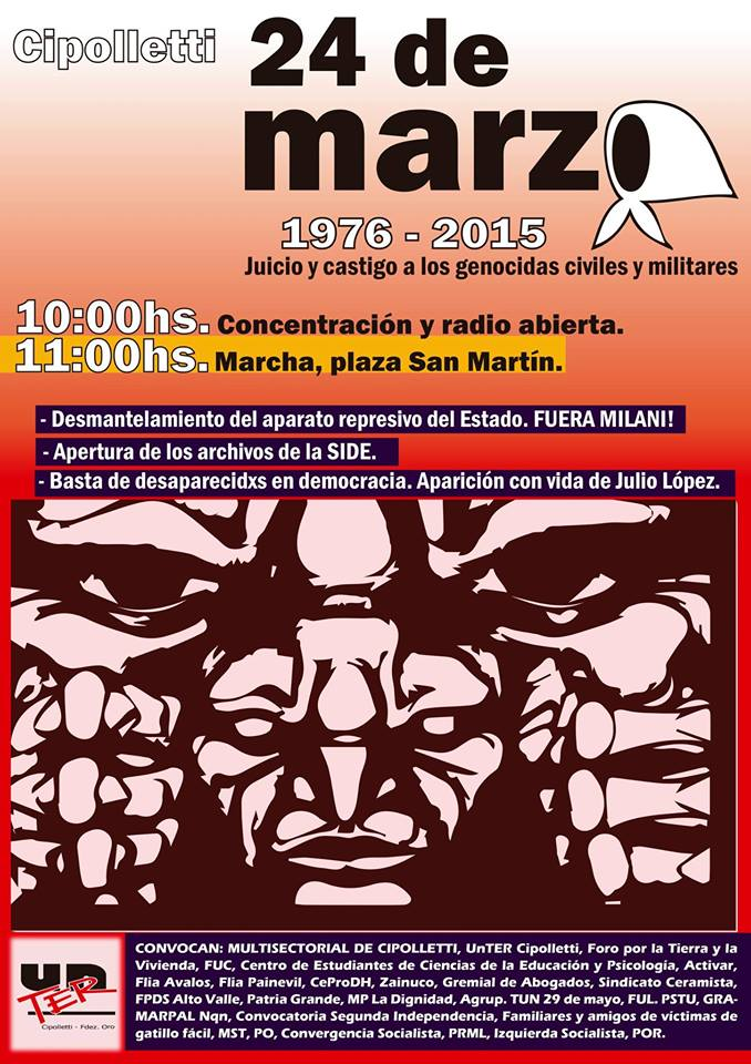Cipolletti: Concentración y Radio Abierta