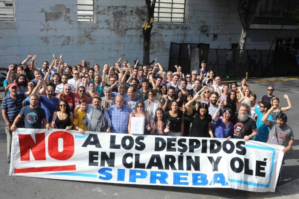 #DespidosEnClarin | Día 3: seguimos en lucha.