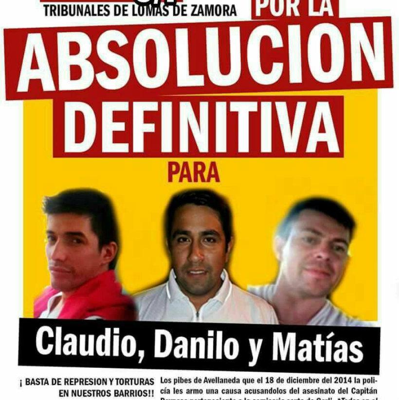 Radio Abierta por Claudio, Danilo y Matías en los Tribunales de Lomas de Zamora - 5/7 - 10 horas-
