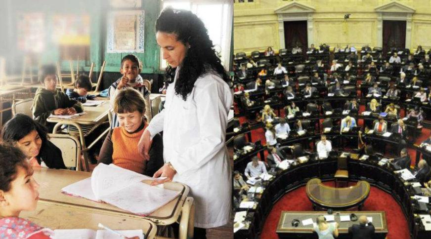 """""""Honorables"""" inmorales : Los diputados se aumentaron la dieta a 150 mil pesos y la mayoría de los docentes gana la décima parte"""