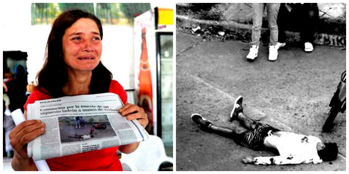 Lorena Torres, madre de David Daniel Moreira, el chico de 18 años asesinado por vecinos en barrio Azcuénaga,  dijo que su hijo quedó irreconocible por los golpes recibidos