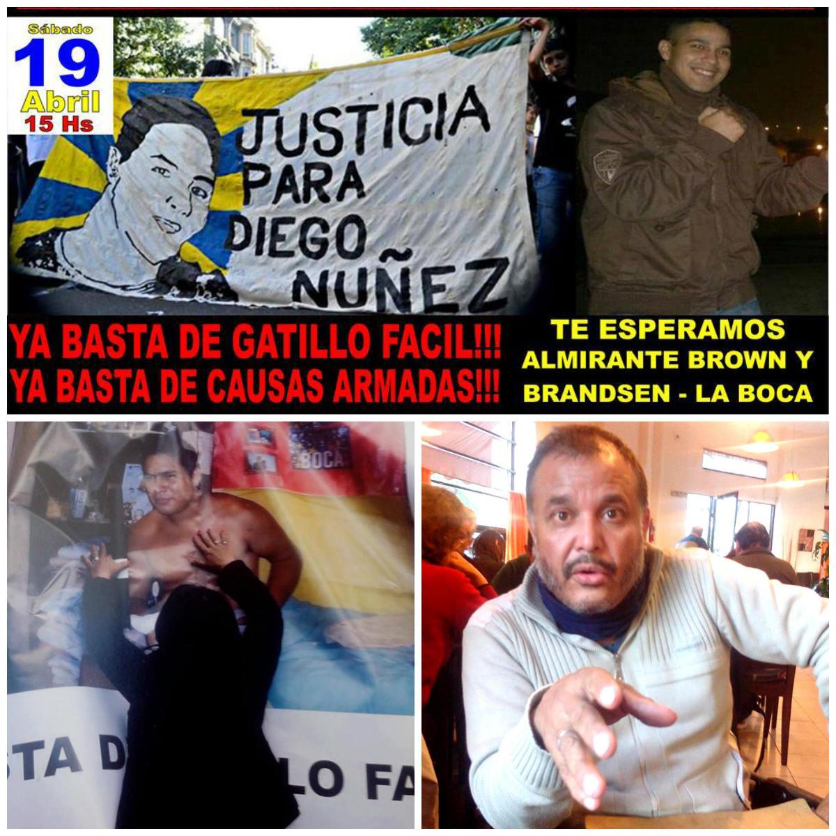 ¡Justicia para Diego/ libertad para Francisco!