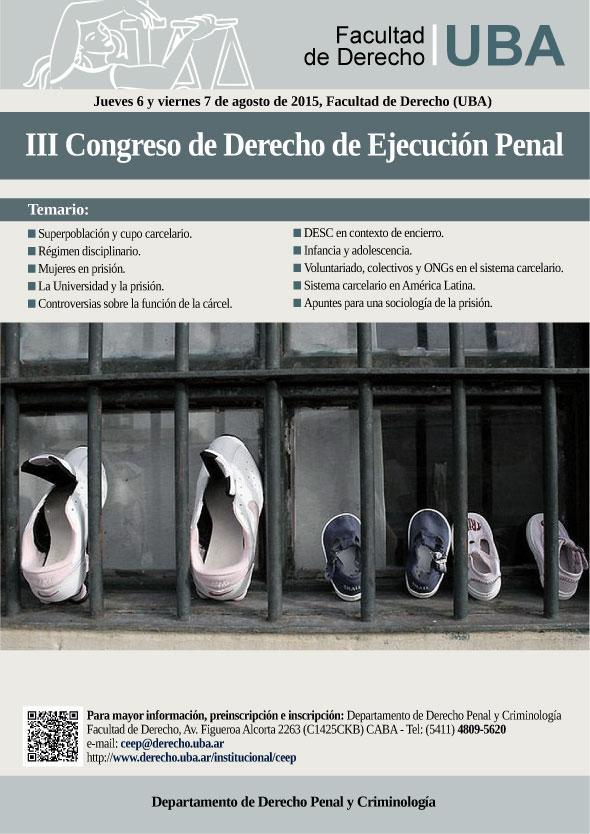 III Congreso de Derecho de Ejecución Penal