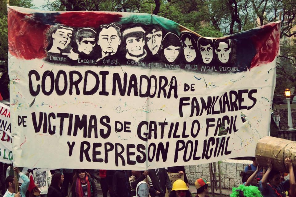 Córdoba: Concentración en Tribunales II, a las 9:30, de Familiares de Víctimas del Gatillo Fácil contra el cierre de las causas