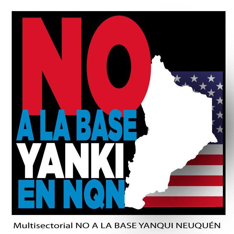 No a la base yankee en  Neuquén!!