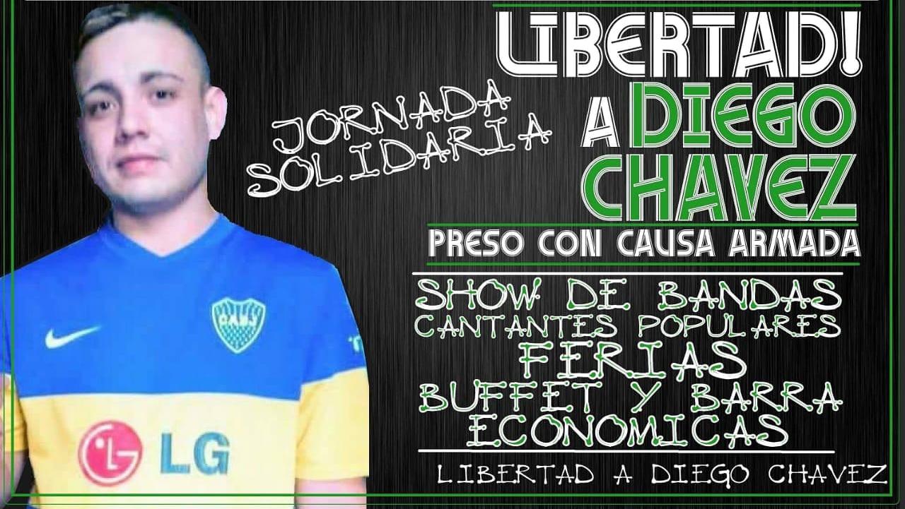 22/9-13 horas en el Barrio Casasco -Moreno - por la liberación de Diego Chávez