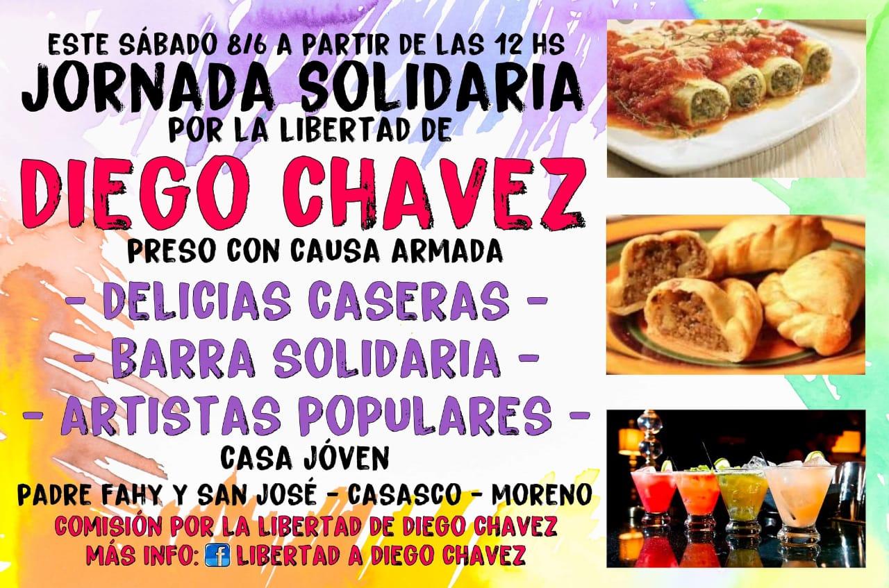¡Libertad a Diego: basta de causas armadas!