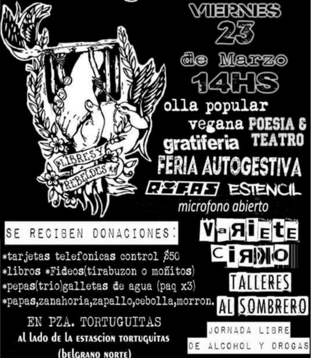 Jornada solidaria con Diego Parodi, preso por luchar