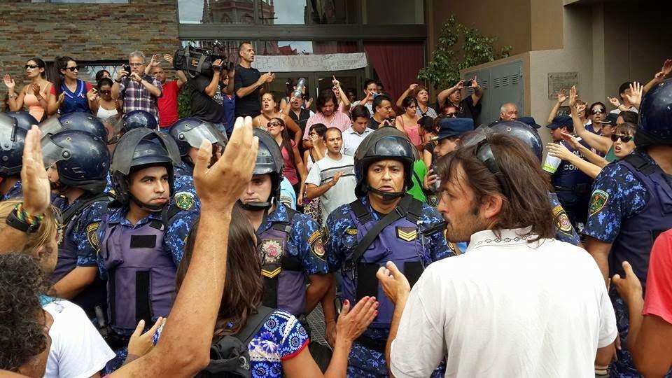 Libertad a los docentes detenidos en Córdoba