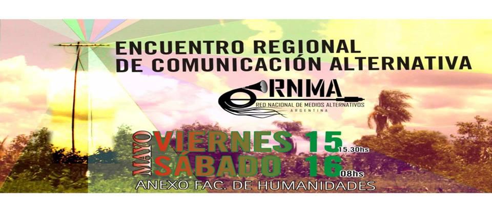 Encuentro Regional de Comunicación Alternativa de la RNMA en Posadas, Misiones