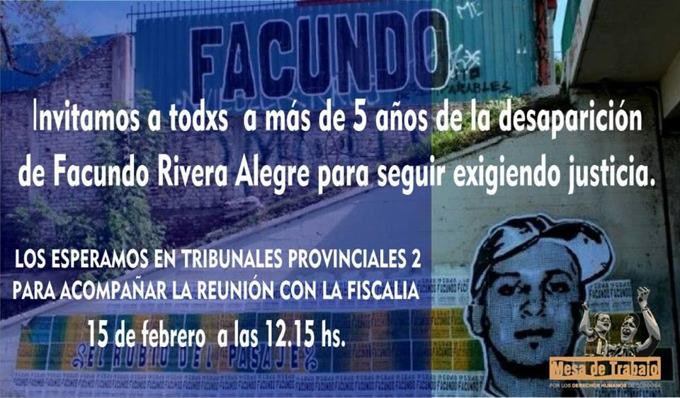 Córdoba: Marcha a Tribunales y Jornada por Facundo Rivera Alegre