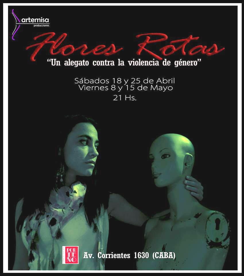 """""""Flores rotas"""", un alegato contra la violencia de género"""