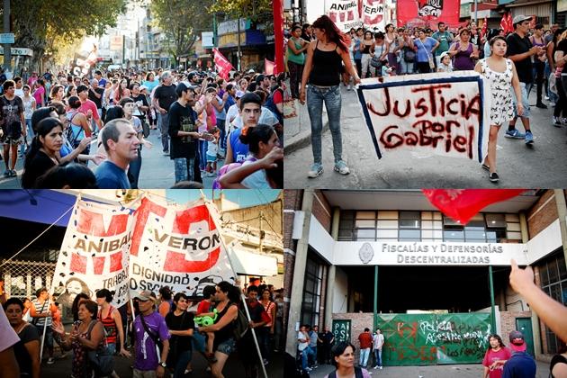 Movilización por Gabriel Sena en Florencio Varela