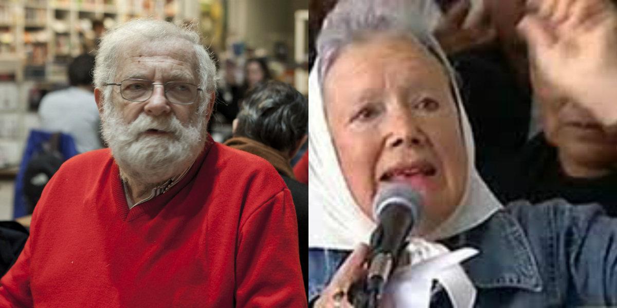 Nora Cortiñas y Herman Schiller se solidarizaron con Oscar Castelnovo a quien impiden ingresar a las cárceles federales