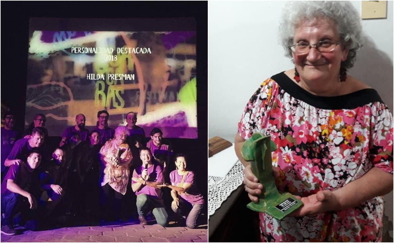 Hilda Presman fue elegida personalidad del año en reconocimiento a su lucha por los más vulnerables