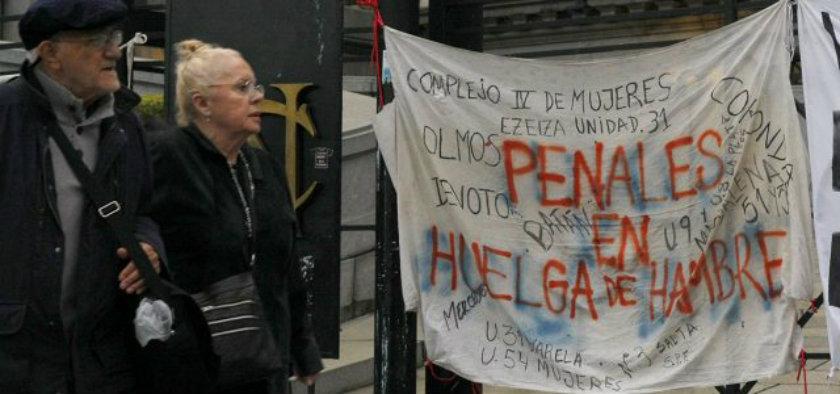 Miércoles 26/4 - Jornada de lucha - No a la reforma de la Ley 24.660 que arrasa los derechos de los privados de libertad