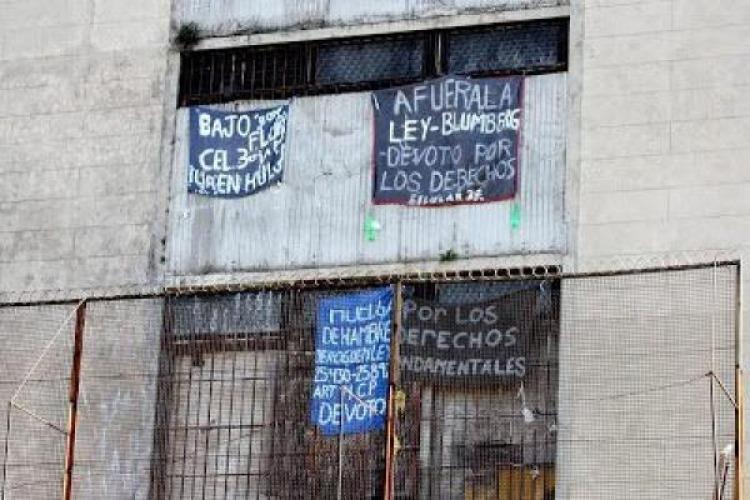 Huelga de hambre en Devoto y el Complejo Femenino de José León Suárez contra la