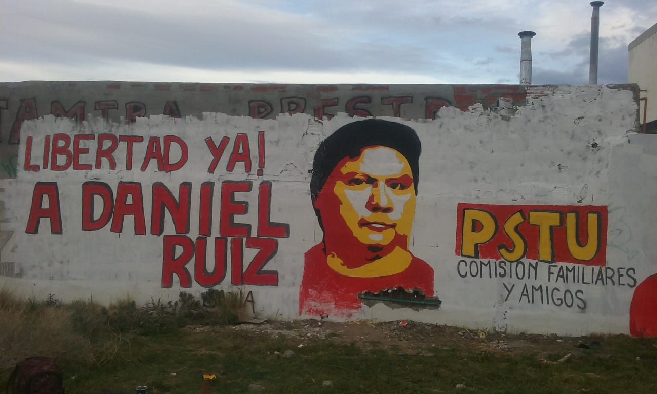 Carta de Daniel Ruiz, a 5 meses de su prisión en Marcos Paz, preso por luchar contra la Reforma Previsional.