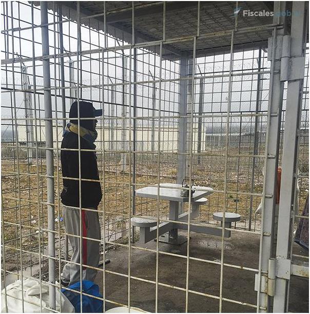 Mendoza: Presos en jaulas a la intemperie