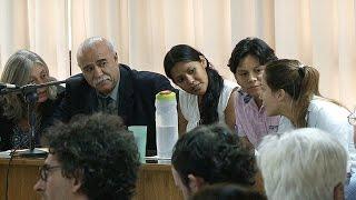 Sigue el juicio a Luz y Diego: libertad a los compañeros