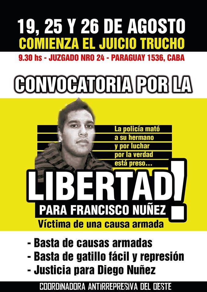 Libertad a Francisco Núñez