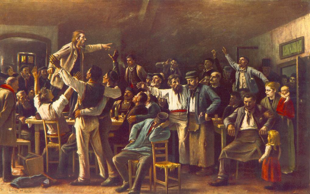 Debate en el Ateneo Anarquista