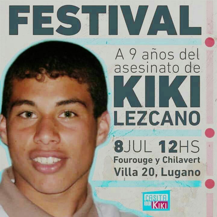 Festival Justicia y Memoria por Jonathan Kiki Lezcano y Ezequiel Blanco