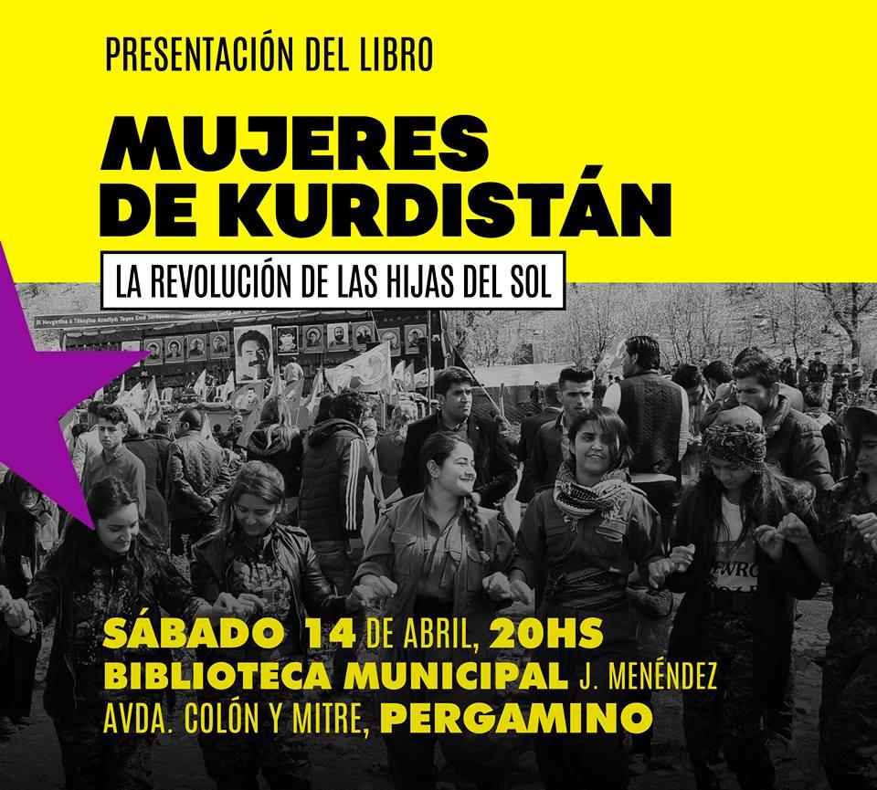 Presentación en Pergamino- Biblioteca Menéndez - Colón y Mitre -20 horas -