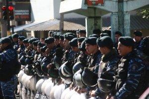 Desalojo violento (foto: Izquierda Diario)