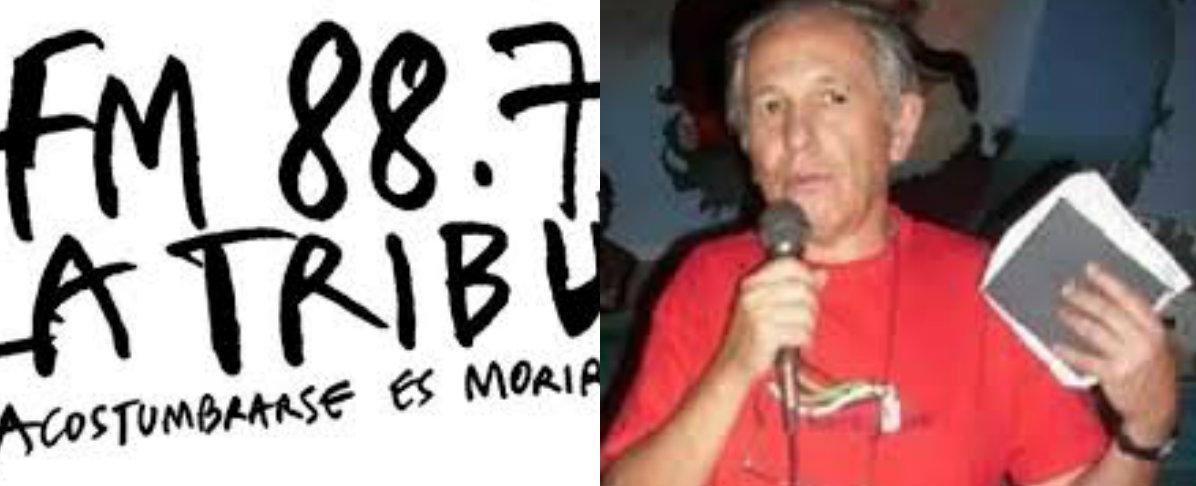 Solidaridad de Radio La Tribu con el periodista Carlos Aznárez