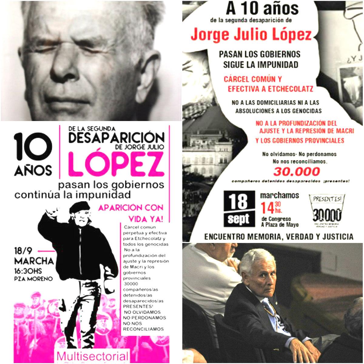 ¡A marchar por Julio López!