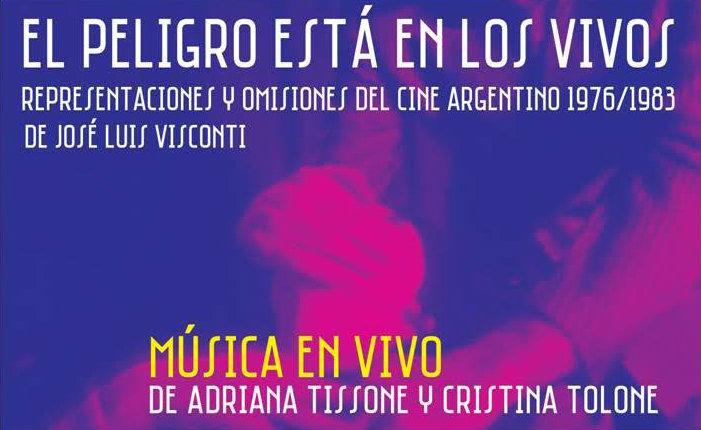 Presentación del libro sobre cine y dictadura de José Luis Visconti en el MAM de La Plata