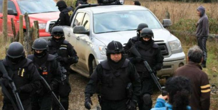 Organismos de derechos humanos exigieron al Gobierno el fin de la represión al pueblo mapuche
