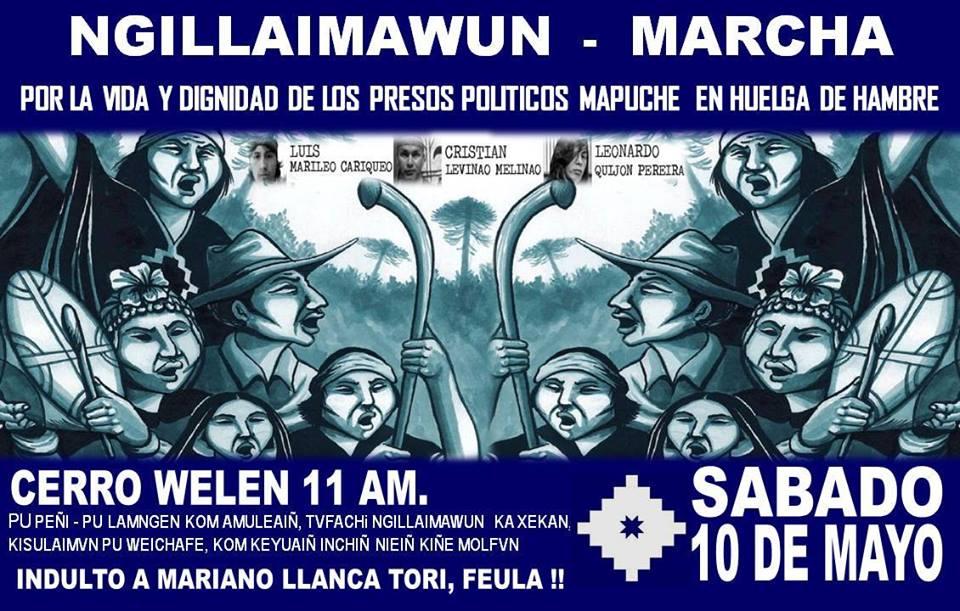 Cerro Welen 11 AM, Sábado 10 de Mayo