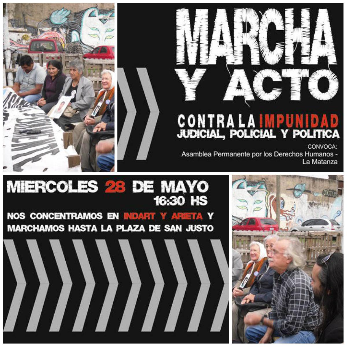 Apdh- La Matanza: Contra la criminalización de los organismos de DD.HH.