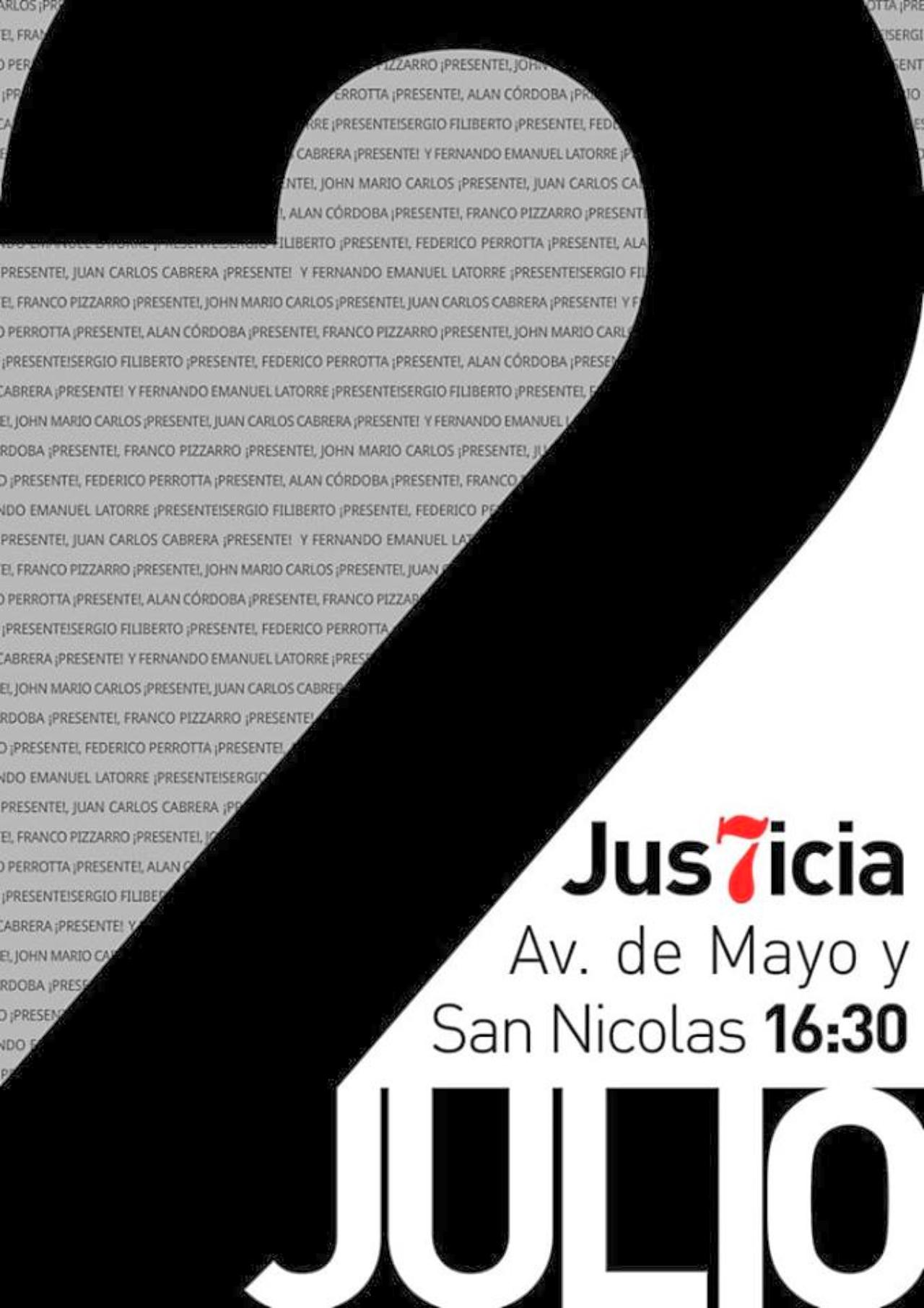 Pergamino: Marcha de Justicia x los 7 a 16 meses de la Masacre