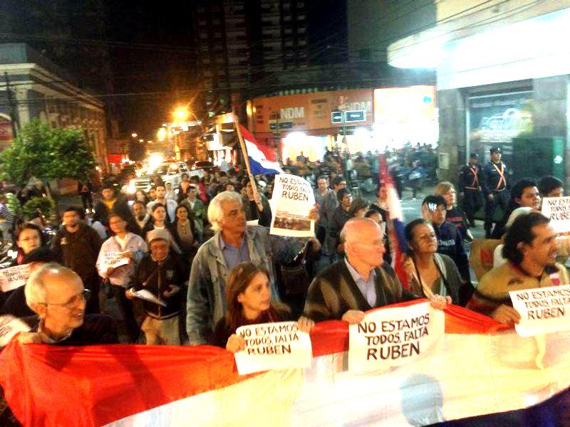 Rubén Villalba: 60 días de huelga de hambre en Tacumbú