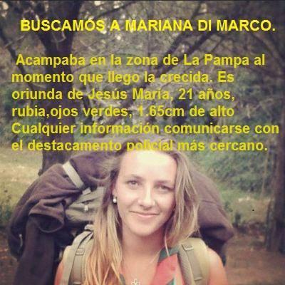 Córdoba: Buscamos a Mariana