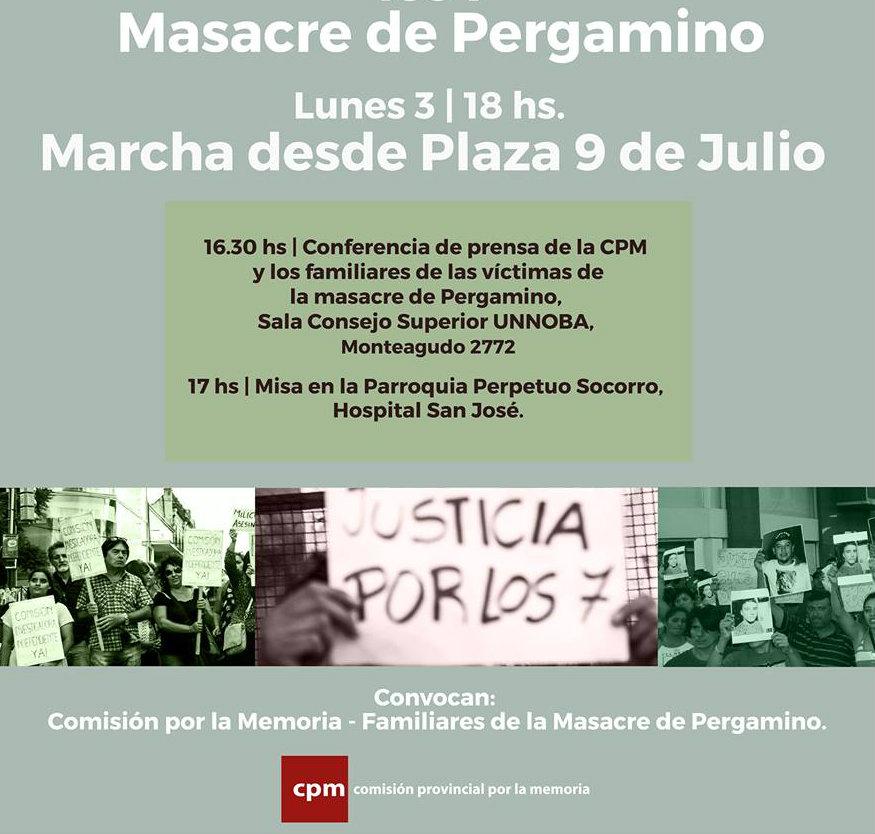 Pergamino: Justicia para los 7 pibes asesinados por el Estado