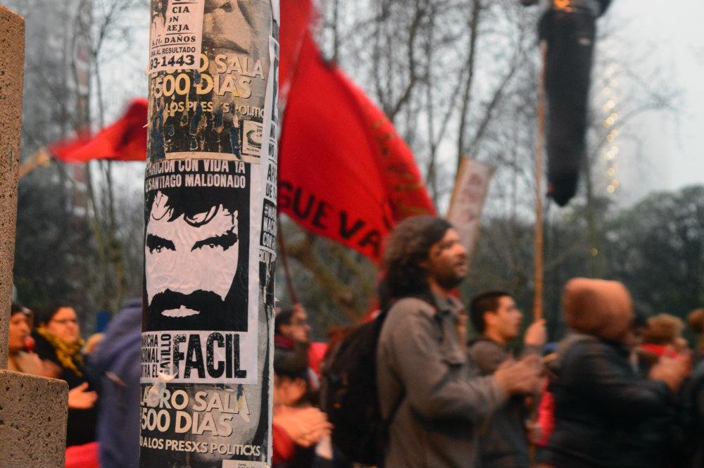 Mar del Plata: Una multitud en la 3° Marcha Nacional contra el Gatillo Fácil