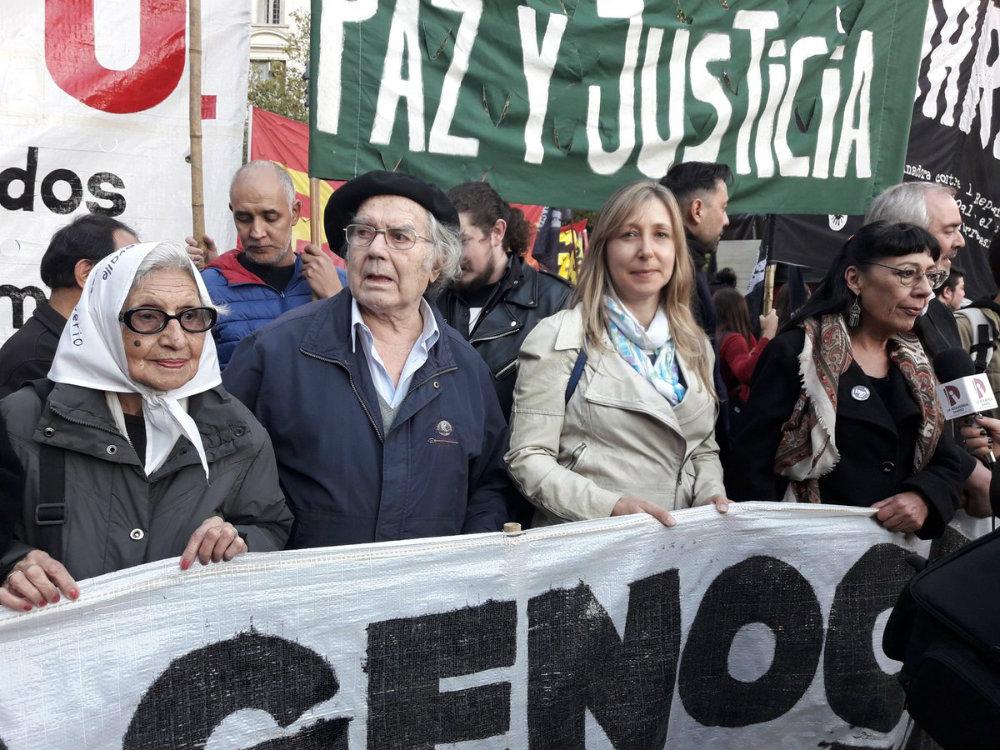 Marcha contra el 2x1; la represión de Macri y los gobernadores; y por la libertad de los presos políticos