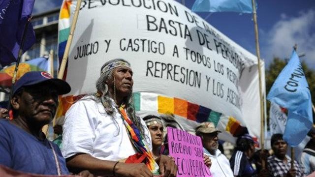 Sin respuesta del gobierno a los originarios que resisten