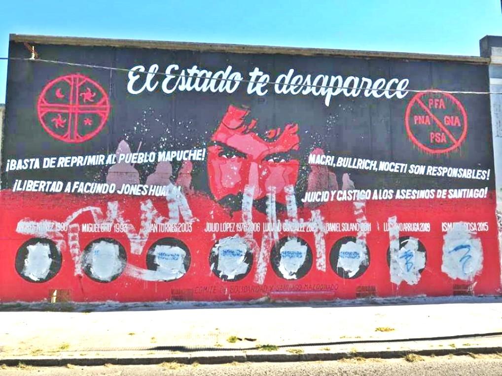 Restauración del mural por Santiago/ Sábado 31 de marzo desde las 12 hs. - Calle 1 y 33, La Plata