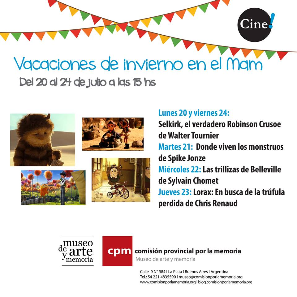 Ciclo de Cine para Niñxs en el MAM de La Plata