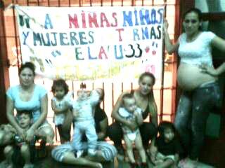 Niñas, niños y mujeres presas de la U33
