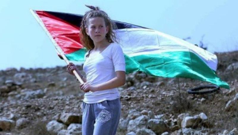 ¡Libertad a Ahed, símbolo de la resistencia Palestina!